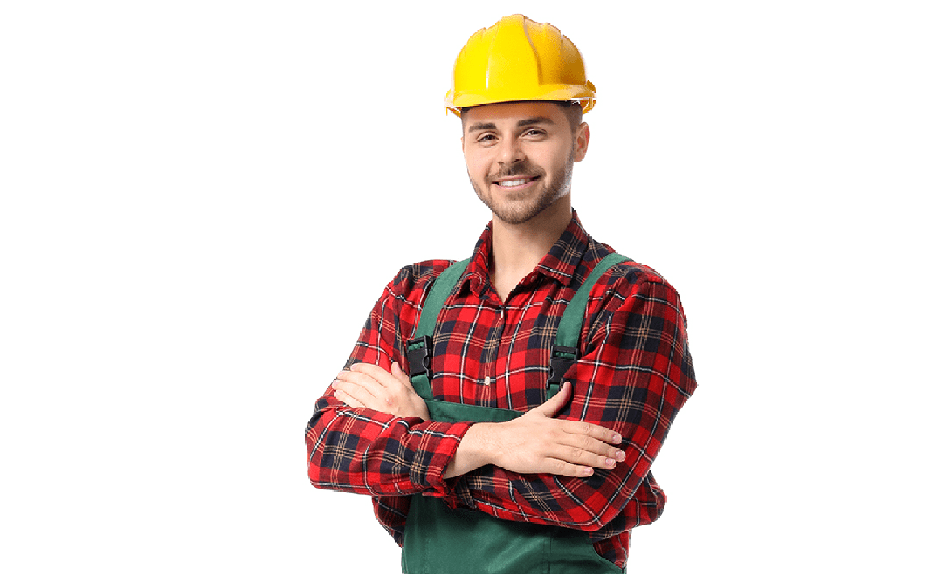 Csapatban dolgozó felújítást végző szakemberek